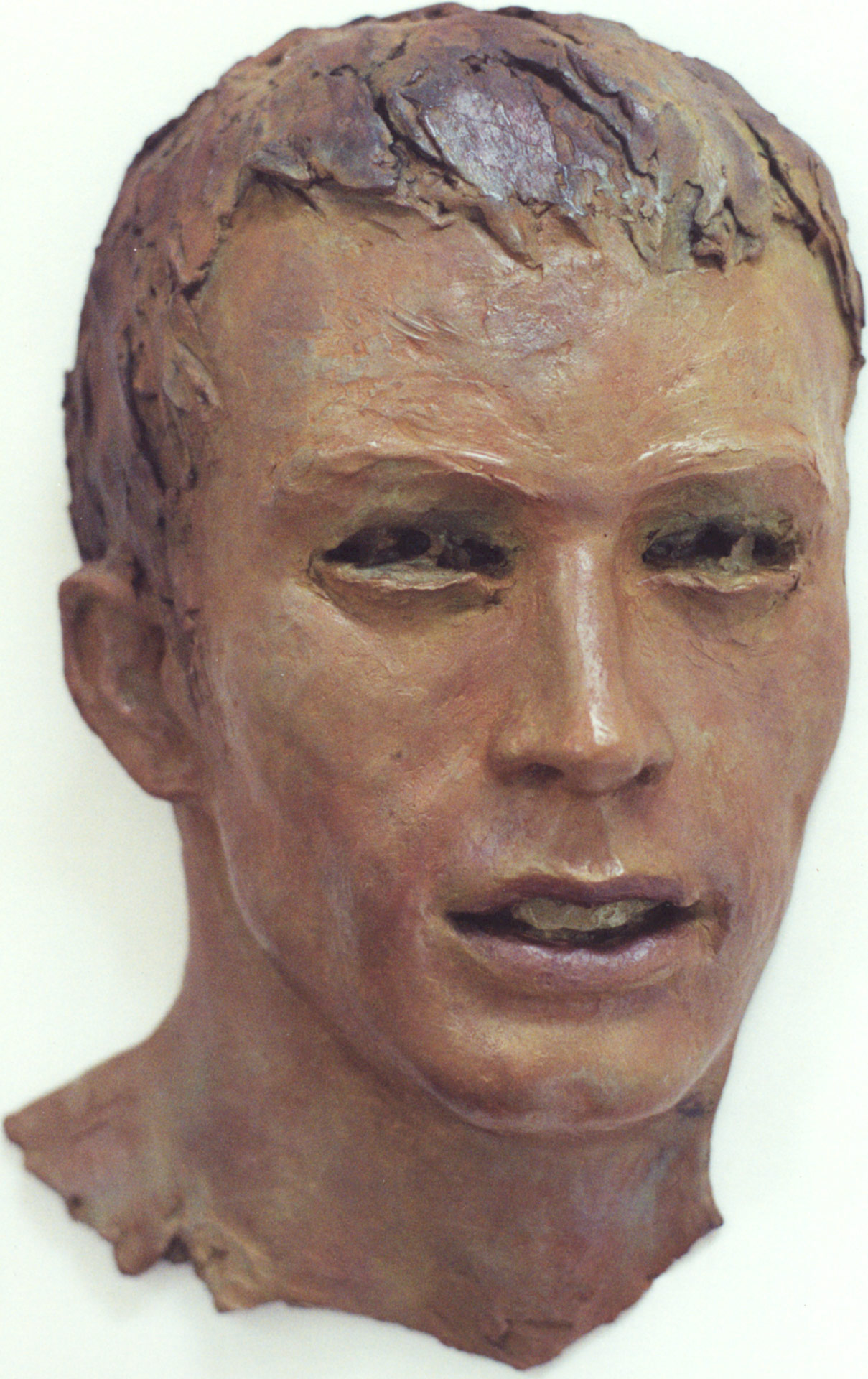 John-Bronze-polychromé-H37cm-P10cm-Roger-Vene-2