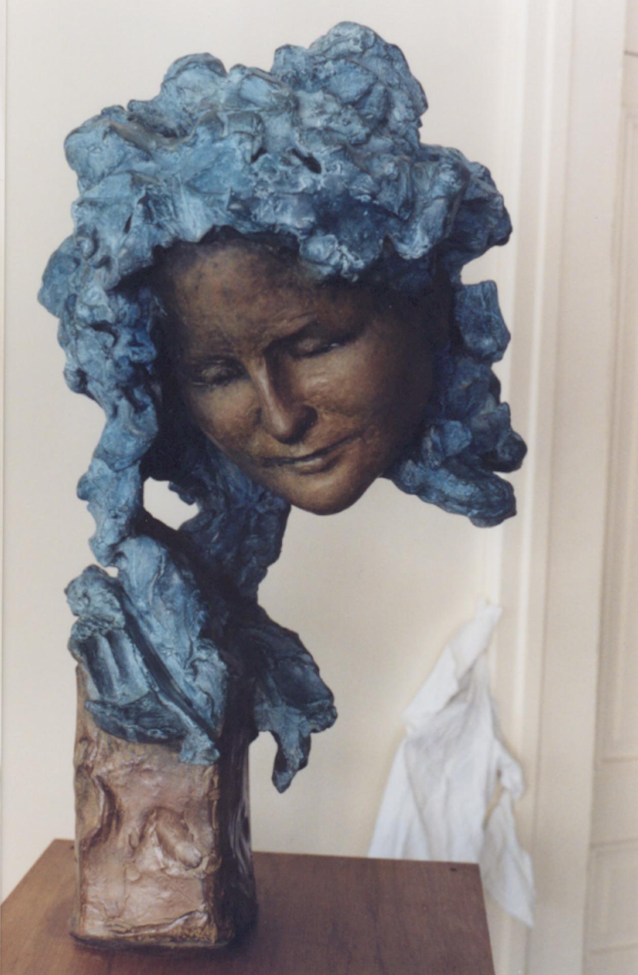 La-Muse-Dina-Vierny-Bronzepolychromé-H73cm-RogerVene-3