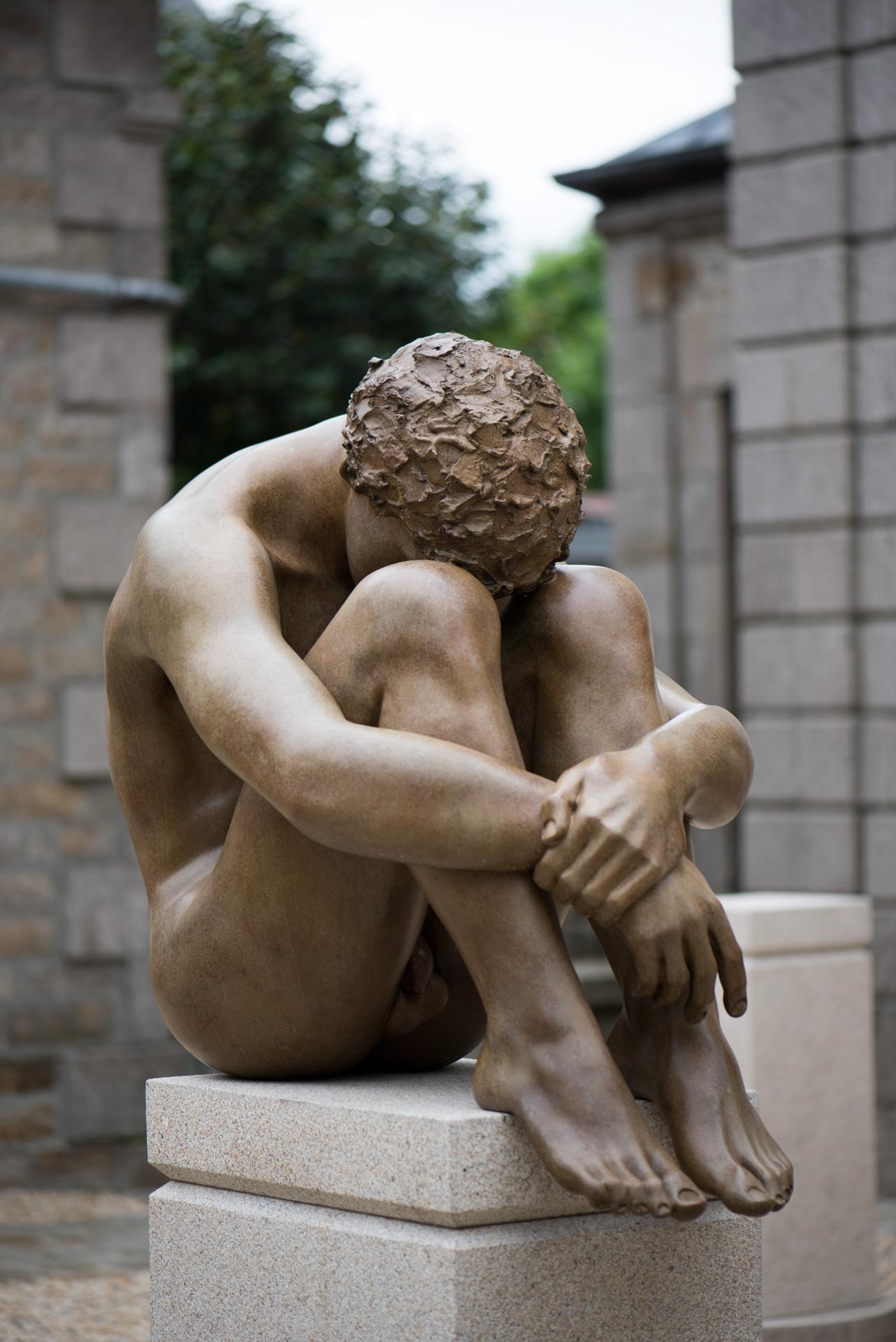 Le-Penseur-Roger-Vene-Sculpteur-Dinan-C